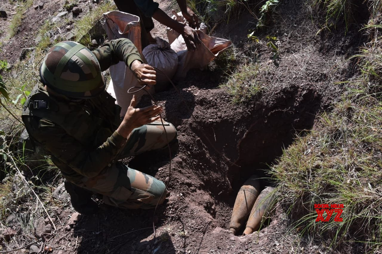 Poonch: Army destroys five live mortar shells in J&K #Gallery