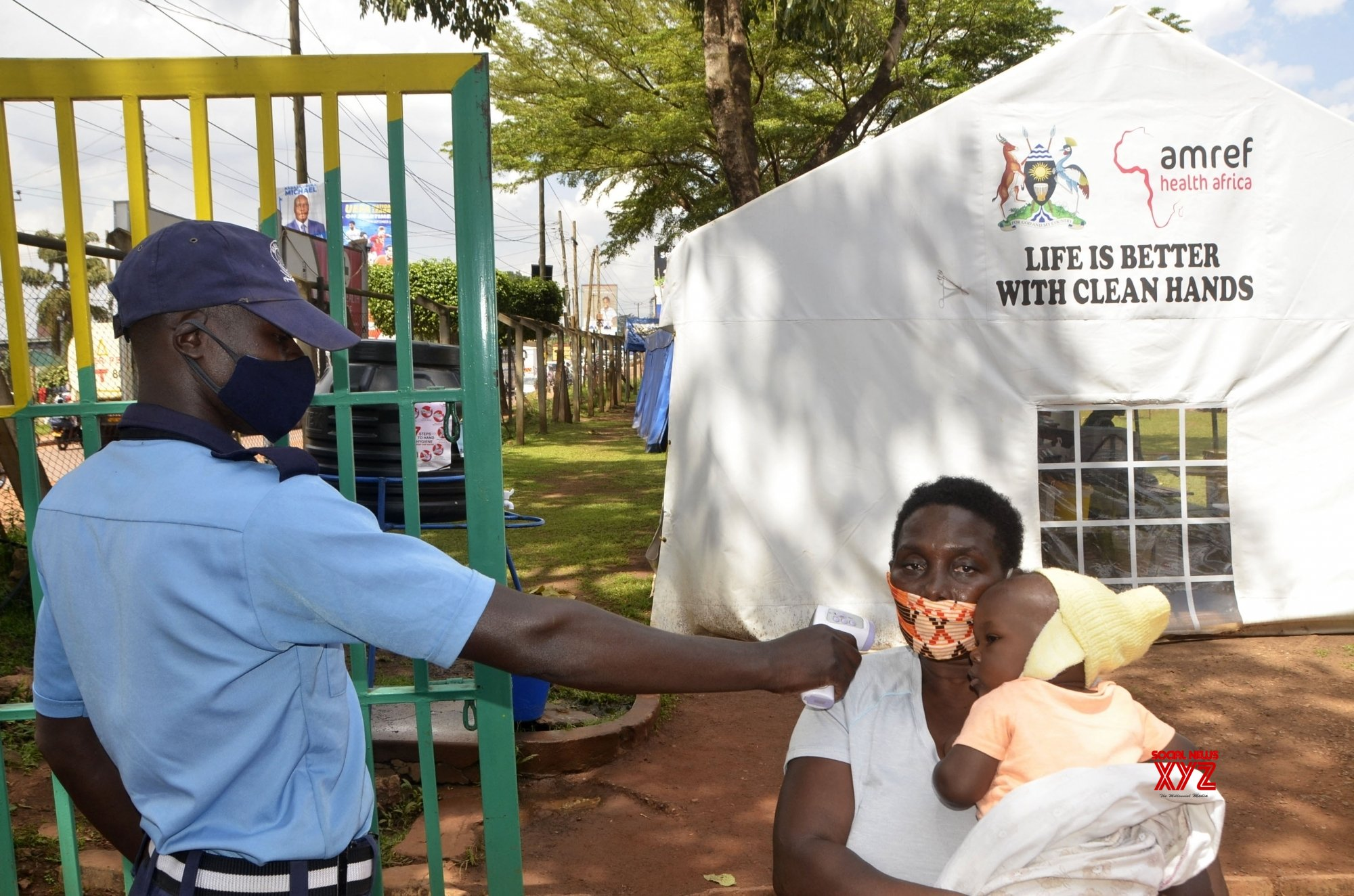) UGANDA - KAMPALA - IMMUNIZATION EXERCISE #Gallery