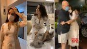 Tamannaah Back To Home After 14 Days Quarantine In Hospital | Manastars  (Video)