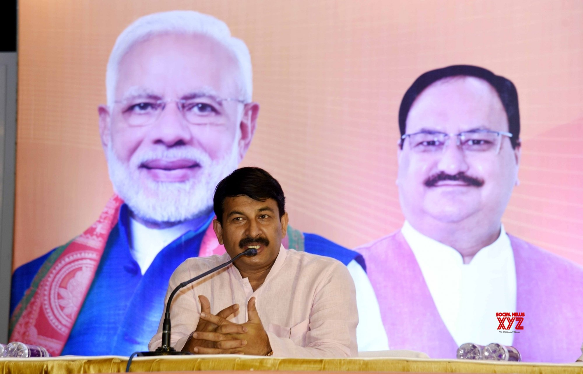 Manoj Tiwari starts election campaign of BJP in Bihar