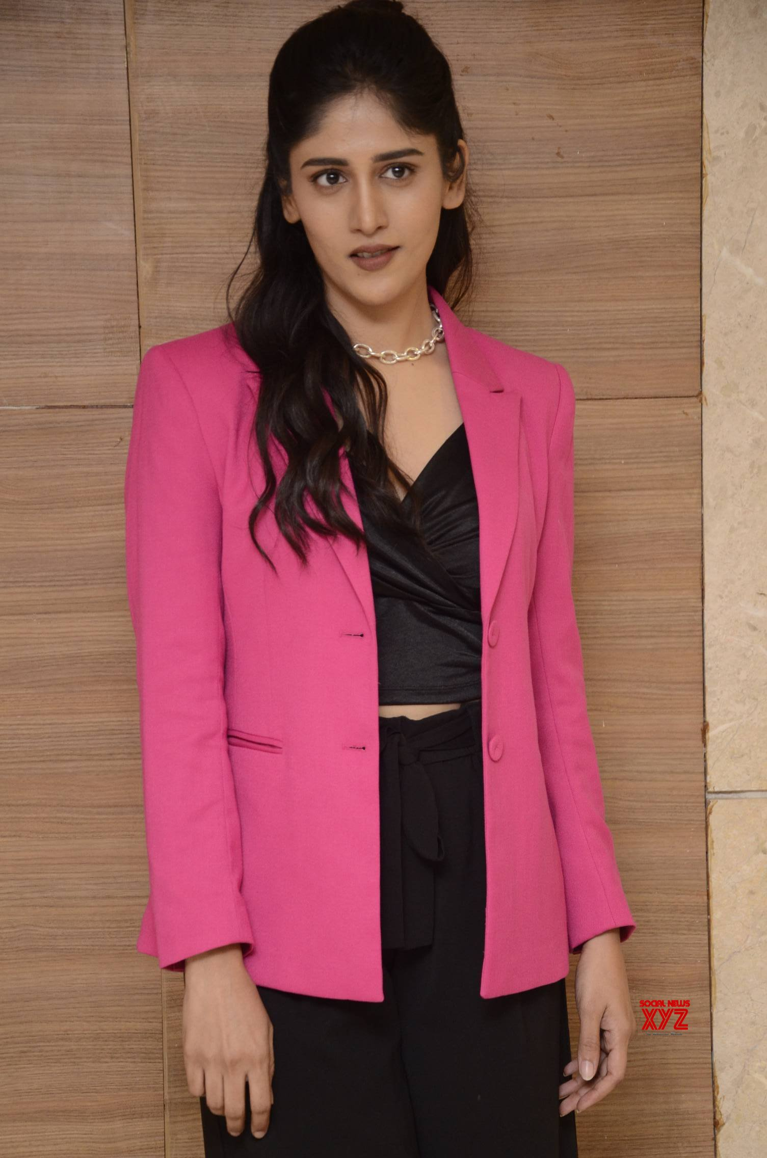 Actress Chandini Chowdary Stills From Colour Photo Movie Pre Release Event