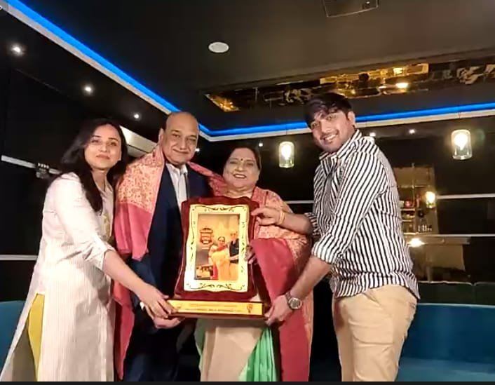 Roja Ramani And Chakrapani Conferred With Life Achievement Award 2020 - Gallery
