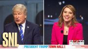 Dueling Town Halls Cold Open - SNL #SNL HD (Video)