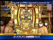Tirumala Navaratri Brahmotsavam | Simha Vahana Seva Grandly Held | on Third Day  (Video)