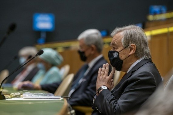 Guterres condemns condemns rocket attacks in Kabul