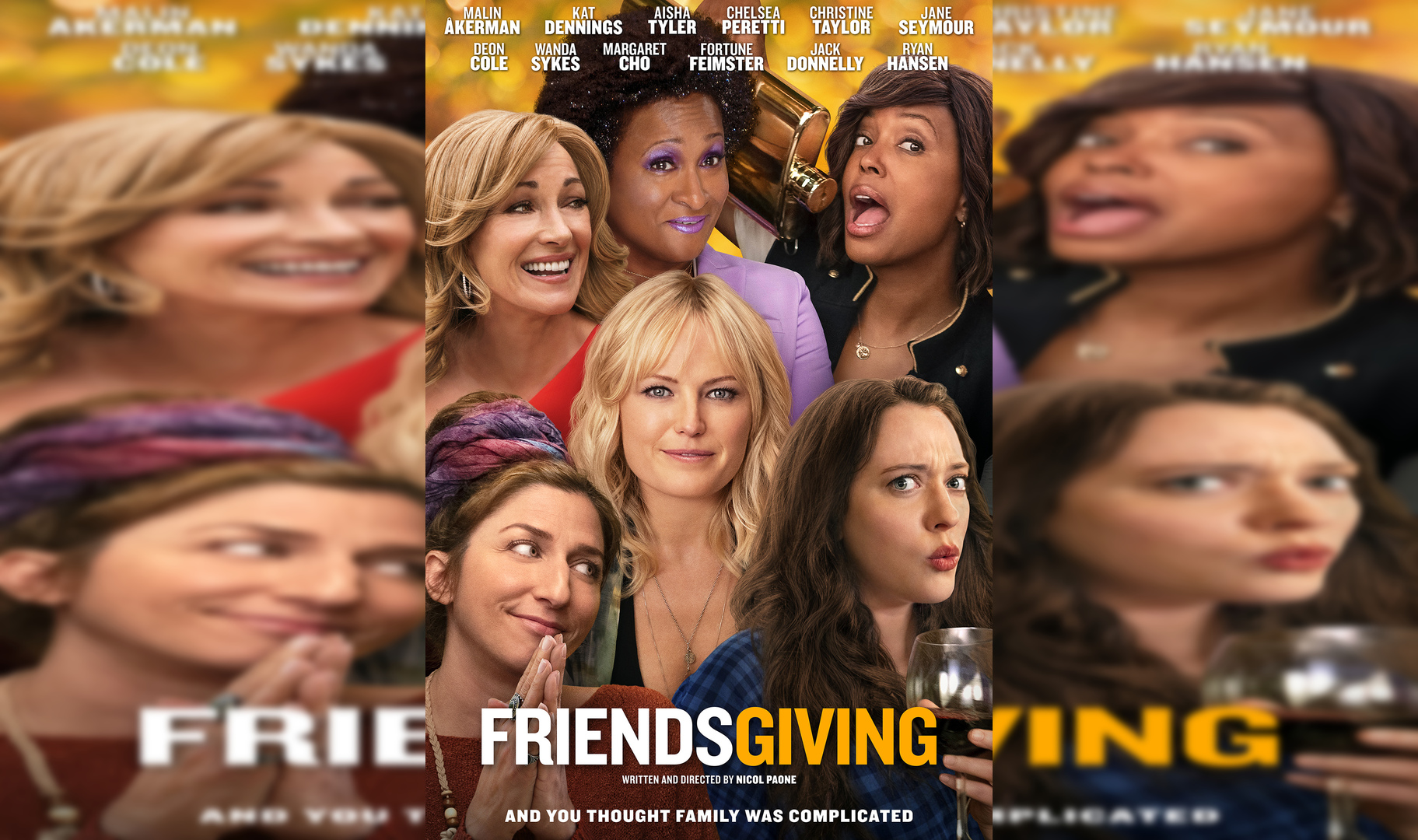 Friendsgiving Review:  Kat Dennings is Really Funny, However, That's not Enough (Rating: **1/2)