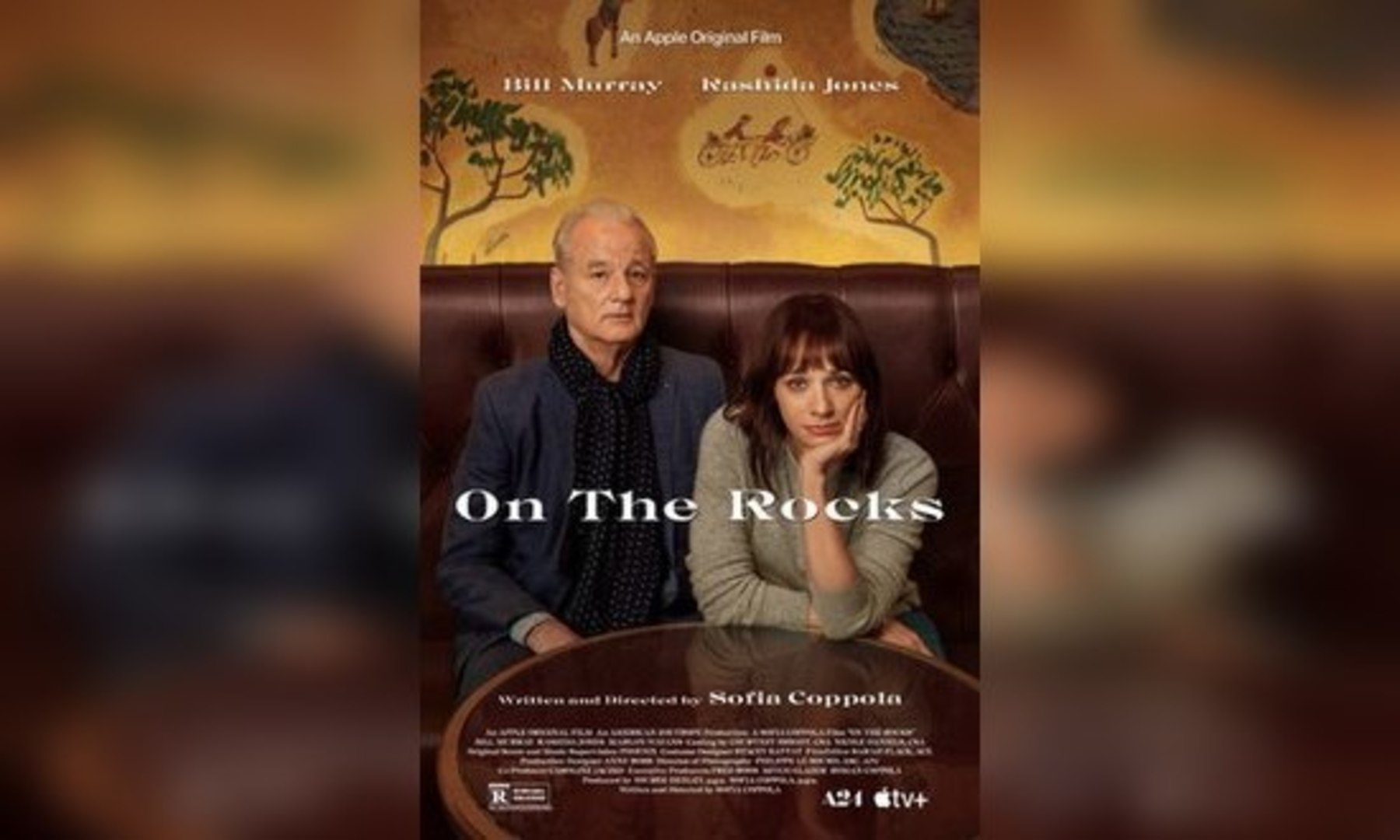 On the Rocks Review:  Sofia Coppola's Movie Self-Destructs Because of the Deficiencies of its Focal Relationship (Rating: **1/2)