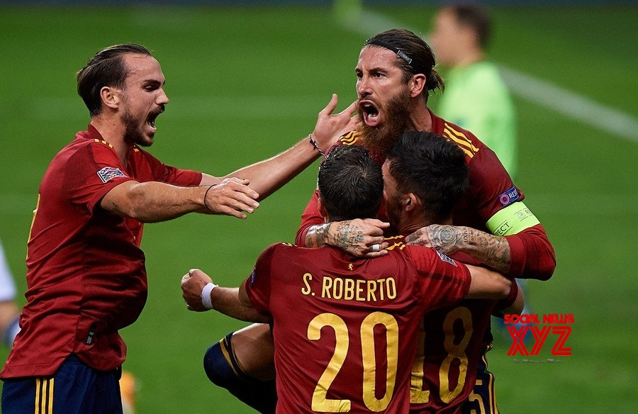 ) Spain thrash Germany to qualify for Nations League semifinals #Gallery