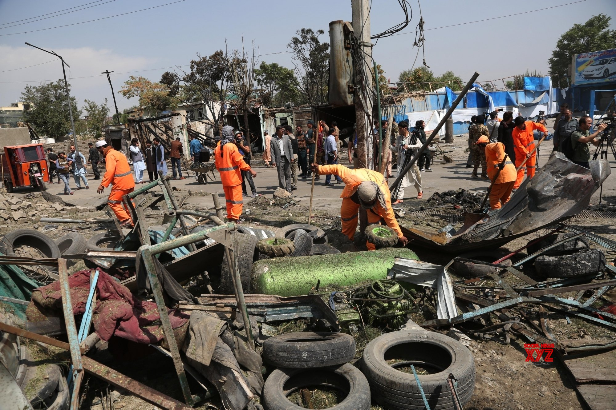 6 dead, over 25 injured in Kabul rocket attacks