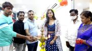 Actress Poojitha Ponnada At Be You Salon Launch | MS Entertainments  (Video)