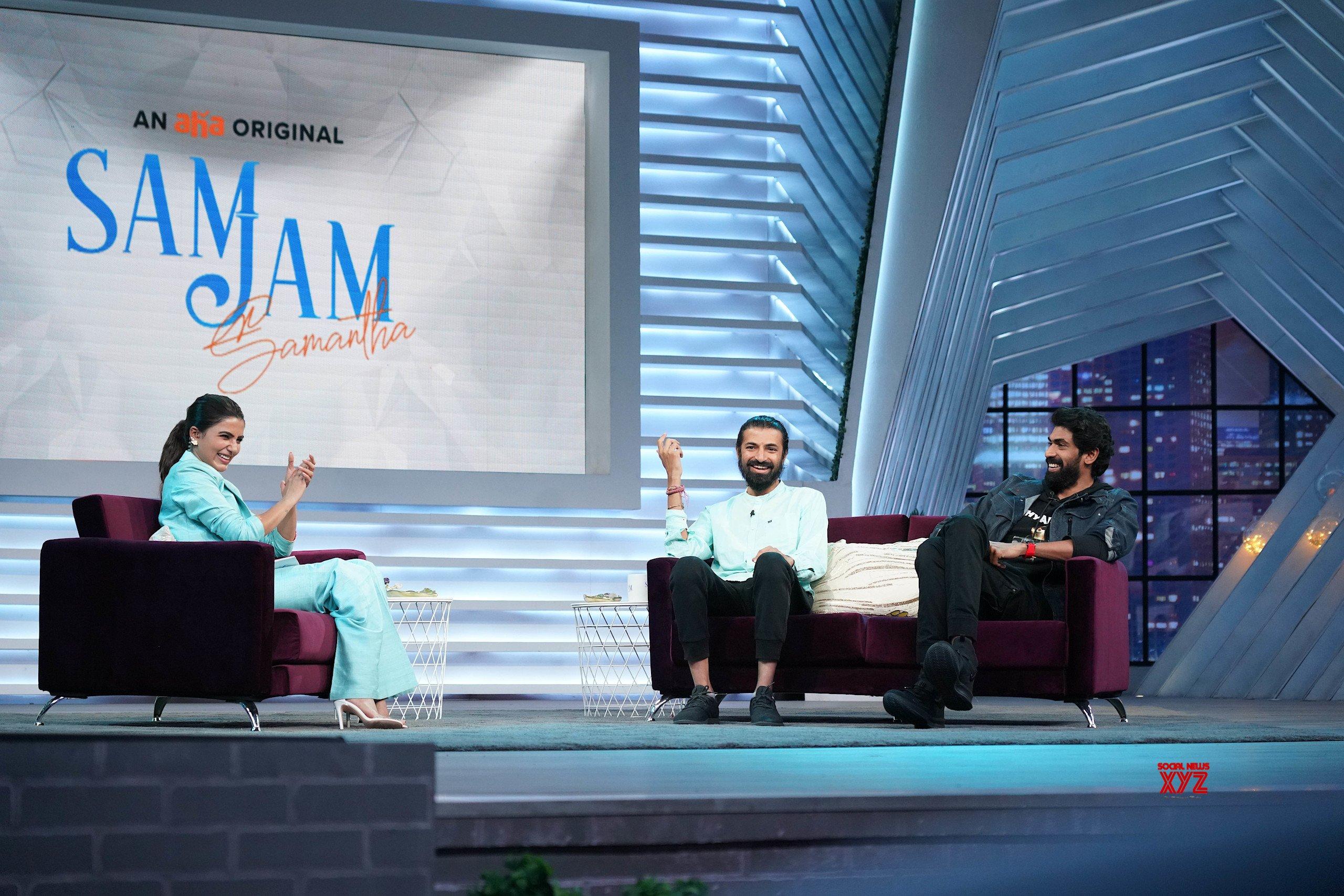 Rana Daggubati, Nag Ashwin, And Samantha HD Stills From The Sets Of SamJam