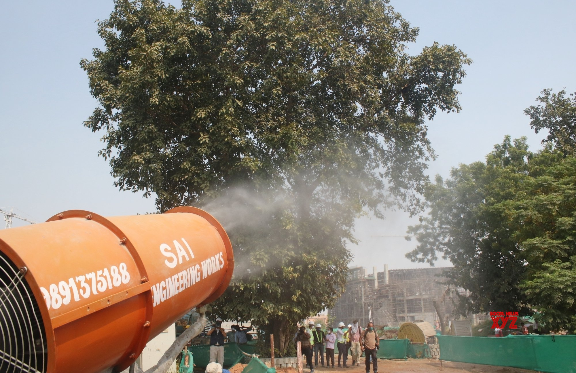 23 anti-smog guns across Delhi to combat dust pollution