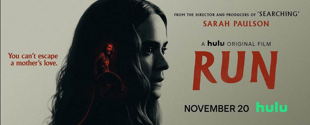Run Review:  Aneesh Chaganty's Film is a Tight, Thrilling, and Compelling With Excellent Performances From Sarah Paulson and Kiera Allen (Rating: ***1/2)