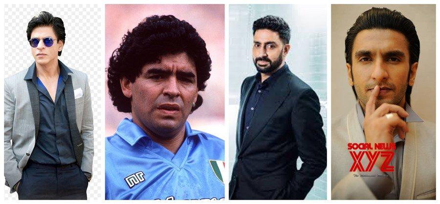 Shah Rukh Khan, Abhishek Bachchan, Ranveer Singh and many others celebrities mourn demise of Football legend Diego Maradona