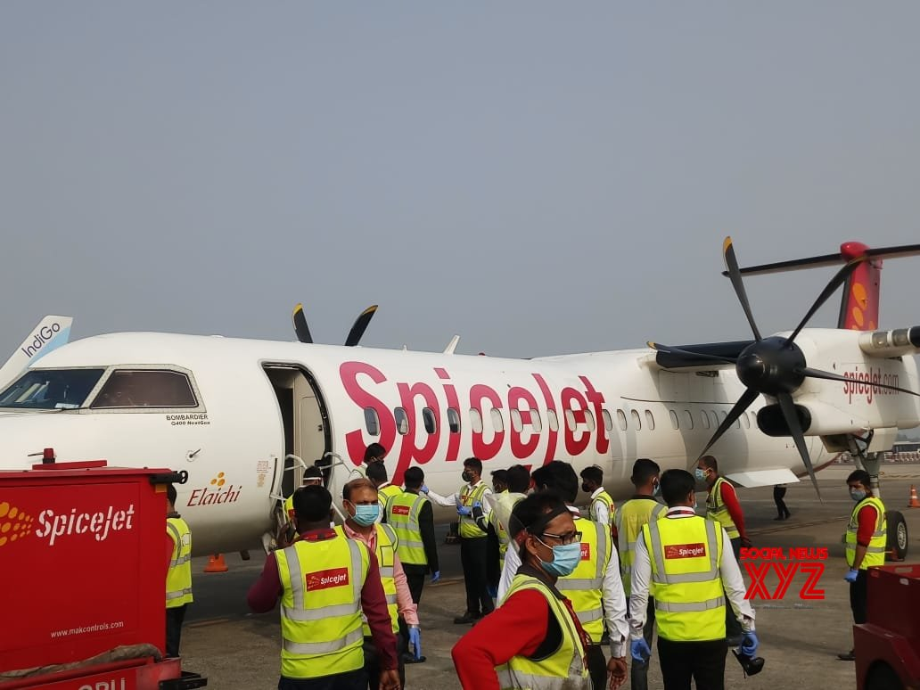 Kolkata: Covishield vaccine reached at NSCBI Airport #Gallery