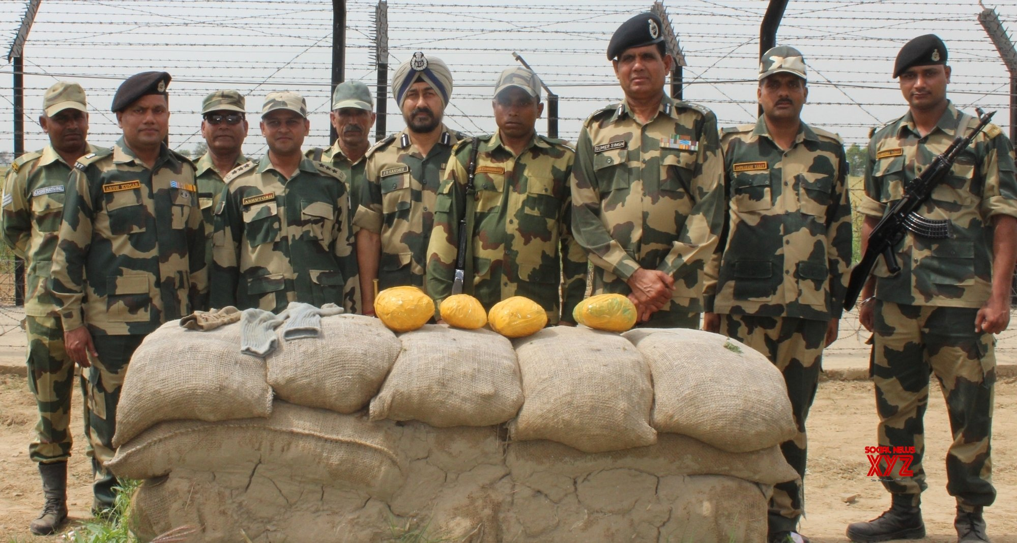 BSF seizes 12 kg narcotic substance in Punjab