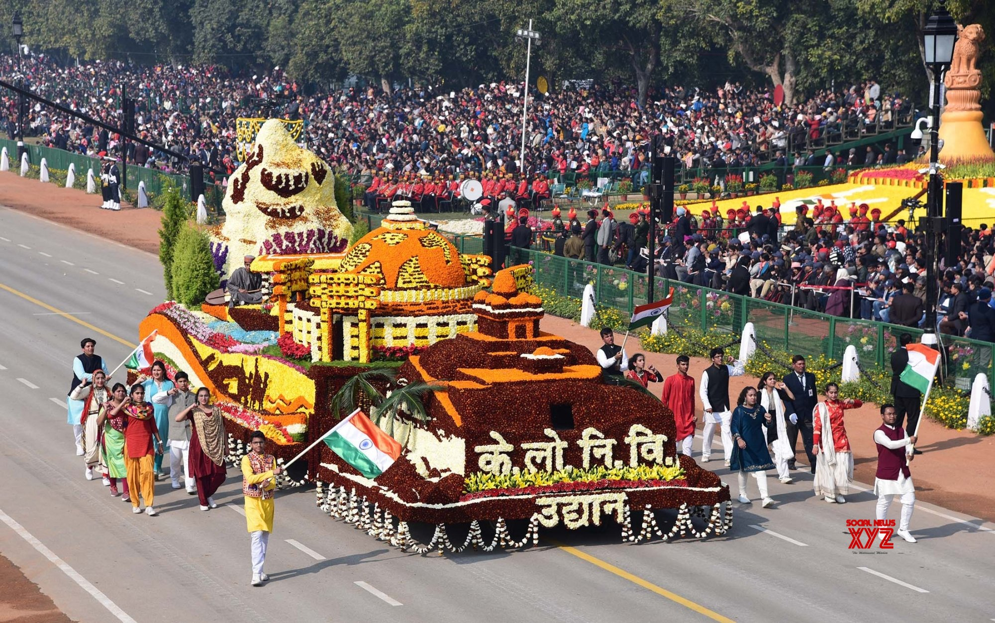 Republic Day parade to feature 321 schoolkids, 80 folk artists