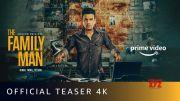 The Family Man Season 2 - Official Teaser 4K | Raj & DK | Manoj Bajpayee, Samantha | Amazon Original [HD] (Video)