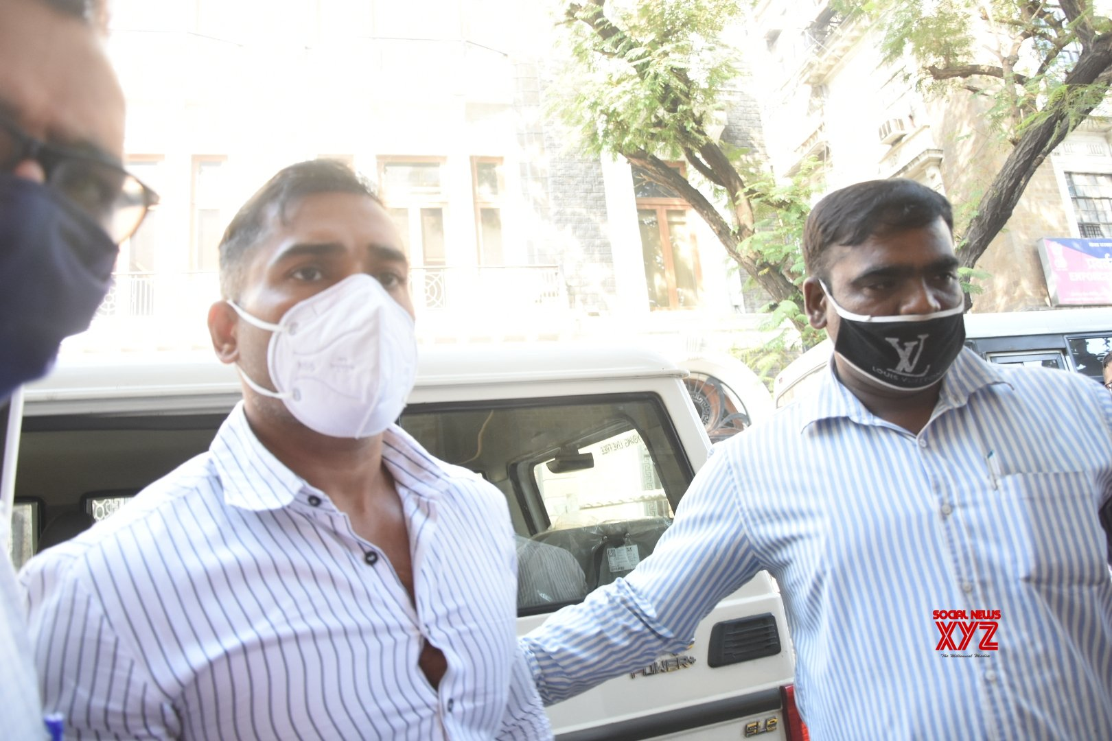 Mumbai: Drugs case: NCB raids residence of Maha minister's son - in - law #Gallery