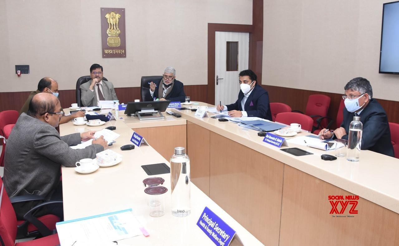 EC officials review preparedness for Assam Assembly polls