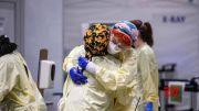 U.S. surpasses 4,300 daily coronavirus deaths (Video)