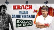 NTV: Krack Movie Villain Samuthirakani Exclusive Interview (Video)