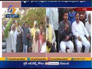 TDP Protest at Against NTR, Yerrannaidu Idols Demolition | at Santhabommali, Srikakulam Dist  (Video)