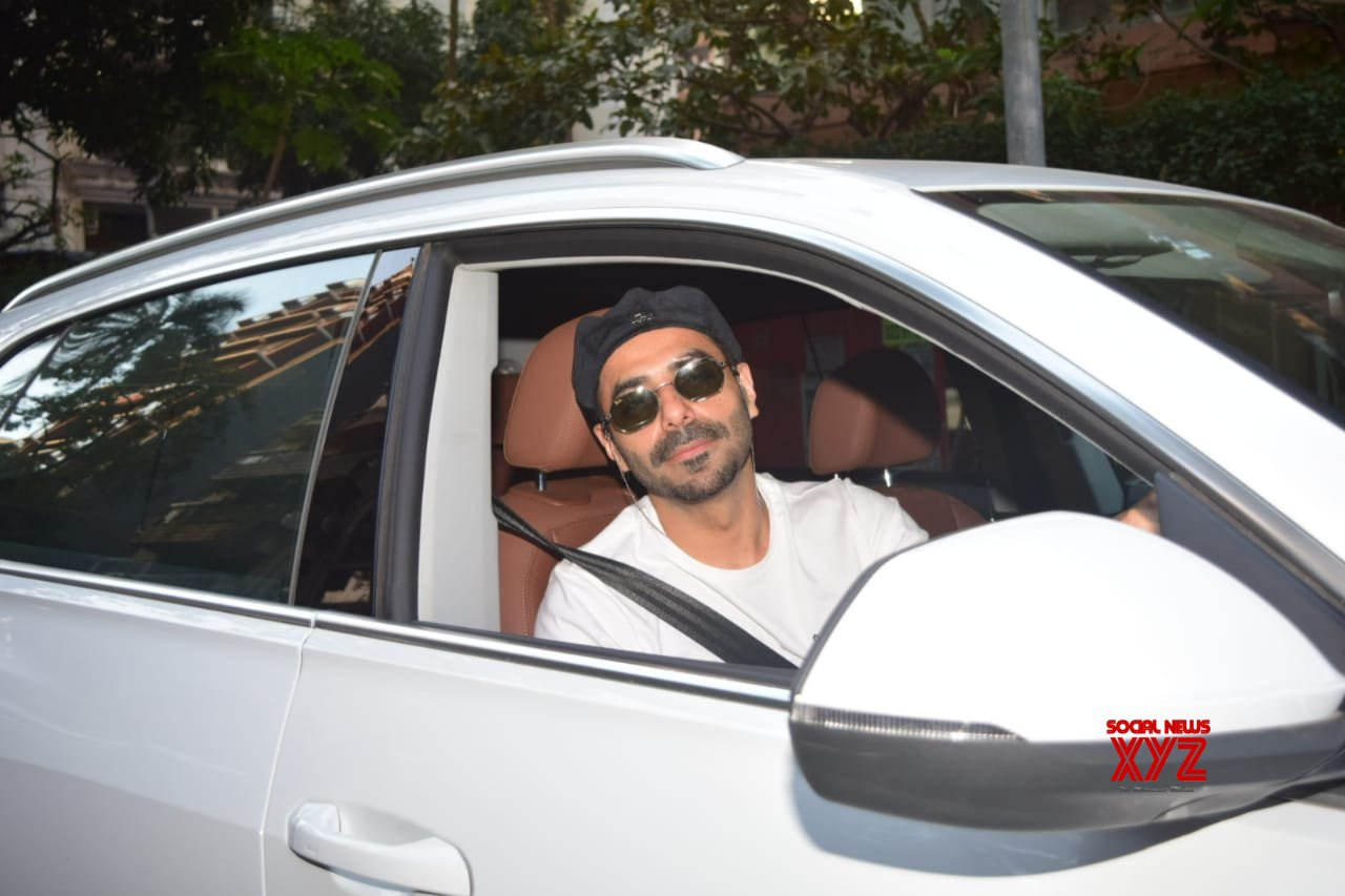 Aparshakti Khurrana Spotted At Juhu For A Movie Meeting - Gallery