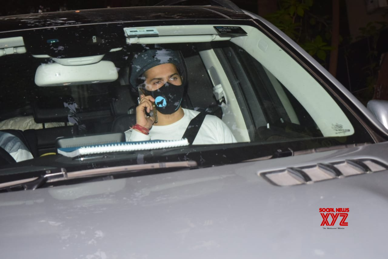 Varun Dhawan And Harman Baweja Spotted Maddock Office Khar - Gallery