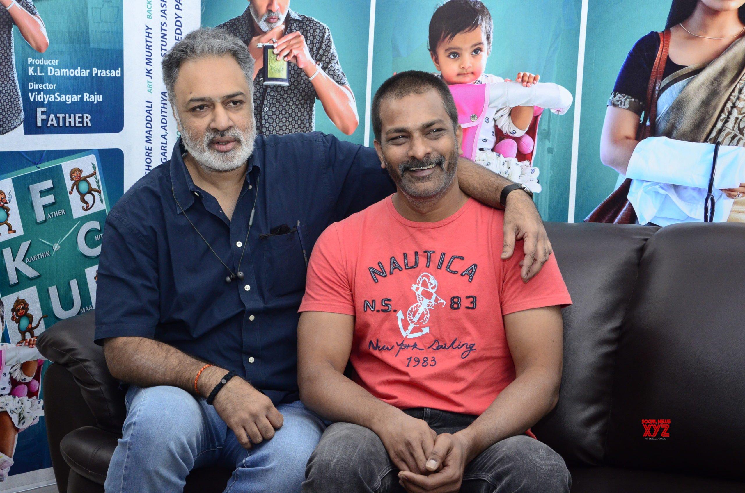 FCUK Father Chitti Uma Karthik Movie is a comic relief film: Director Vidyasagar Raju