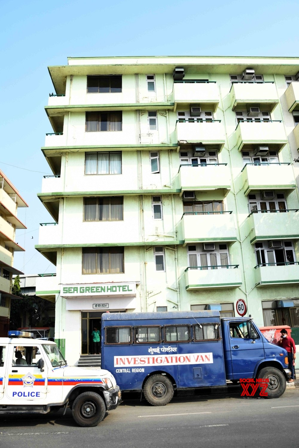 Mumbai: Exterior view of Sea Green South Hotel where Mohan Delkar, a Lok Sabha member from Dadra and Nagar Haveli allegedly died by suicide #Gallery