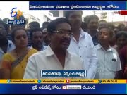 Sarpanch Candidate Followers Protest Across State  (Video)