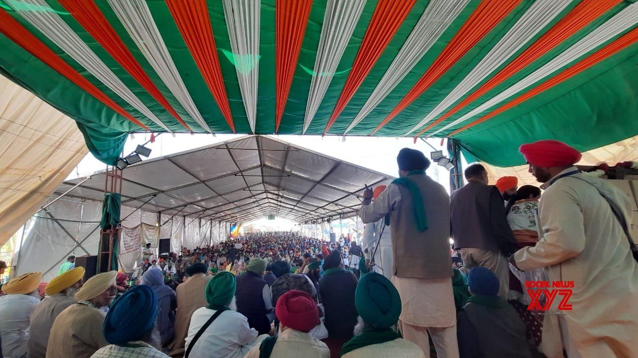 Farmers celebrate Turban Day on Delhi borders