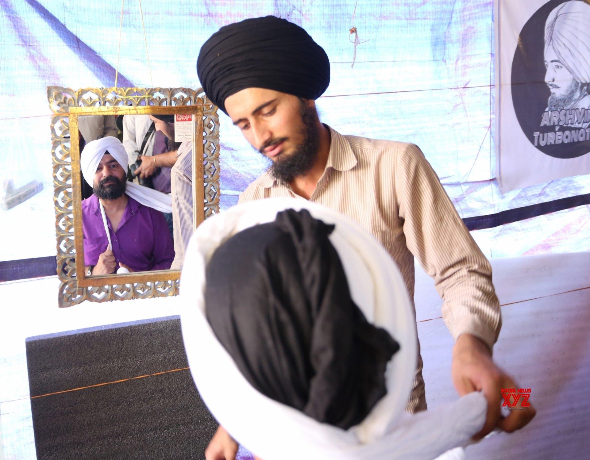 New Delhi: Pagdi Sambhal Diwas celebrated at Ghazipur border on Tuesday 23rd February, 2021 #Gallery