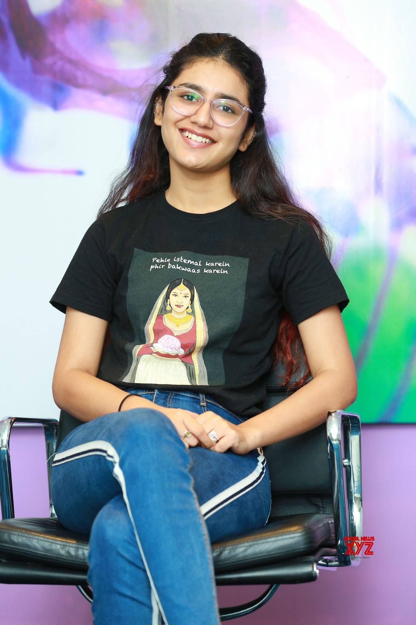 Actress Priya Prakash Varrier Stills From Check Movie & Interview