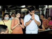 Uppena Movie Team Warangal Bhadrakali Temple Coverage (Video)