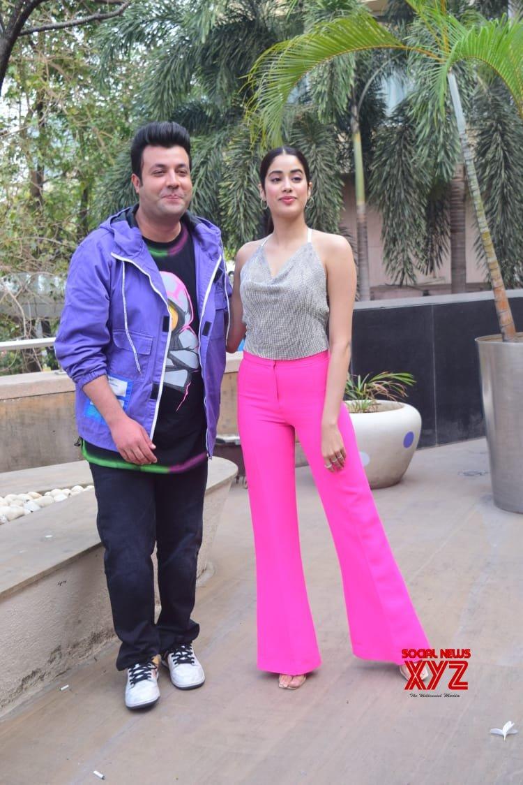 Janhvi Kapoor And Varun Sharma At Novotel - Gallery