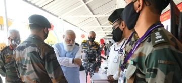 Modi calls for enhancing indigenisation in security system, doctrines and customs
