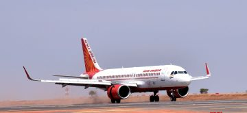 Bengaluru: Refurbished and upgraded North Runway at Kempegowda International Airport commenced operations, in Bengaluru on Thursday 25th March 2021. (Photo: IANS)