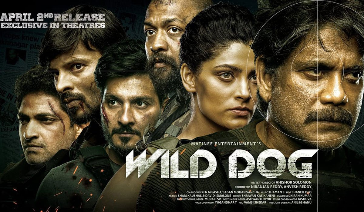 Wild Dog Review:  A Half Successful Operation with a Zestful Nagarjuna (Rating: **1/2)