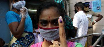 Tamil Nadu Elections 2021 April 6, 2021.(Photo:IANS)