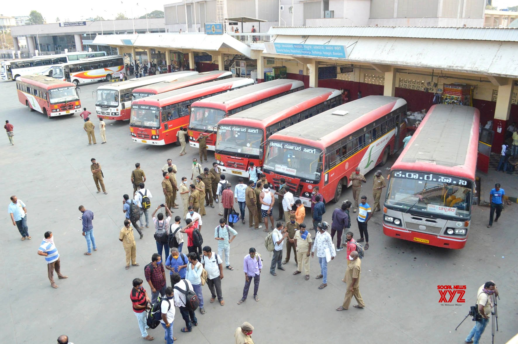 Bus strike: Normal life disrupted in Karnataka