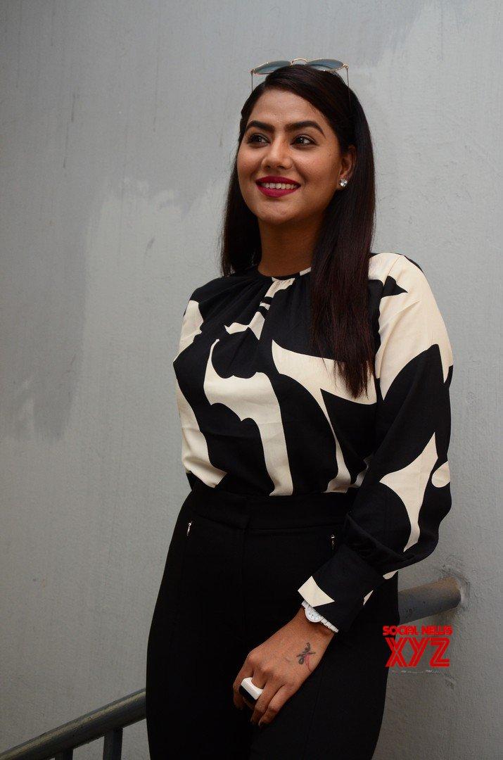 Actress Tanya Desai Stills From Street Fight Movie Trailer Launch Press Meet