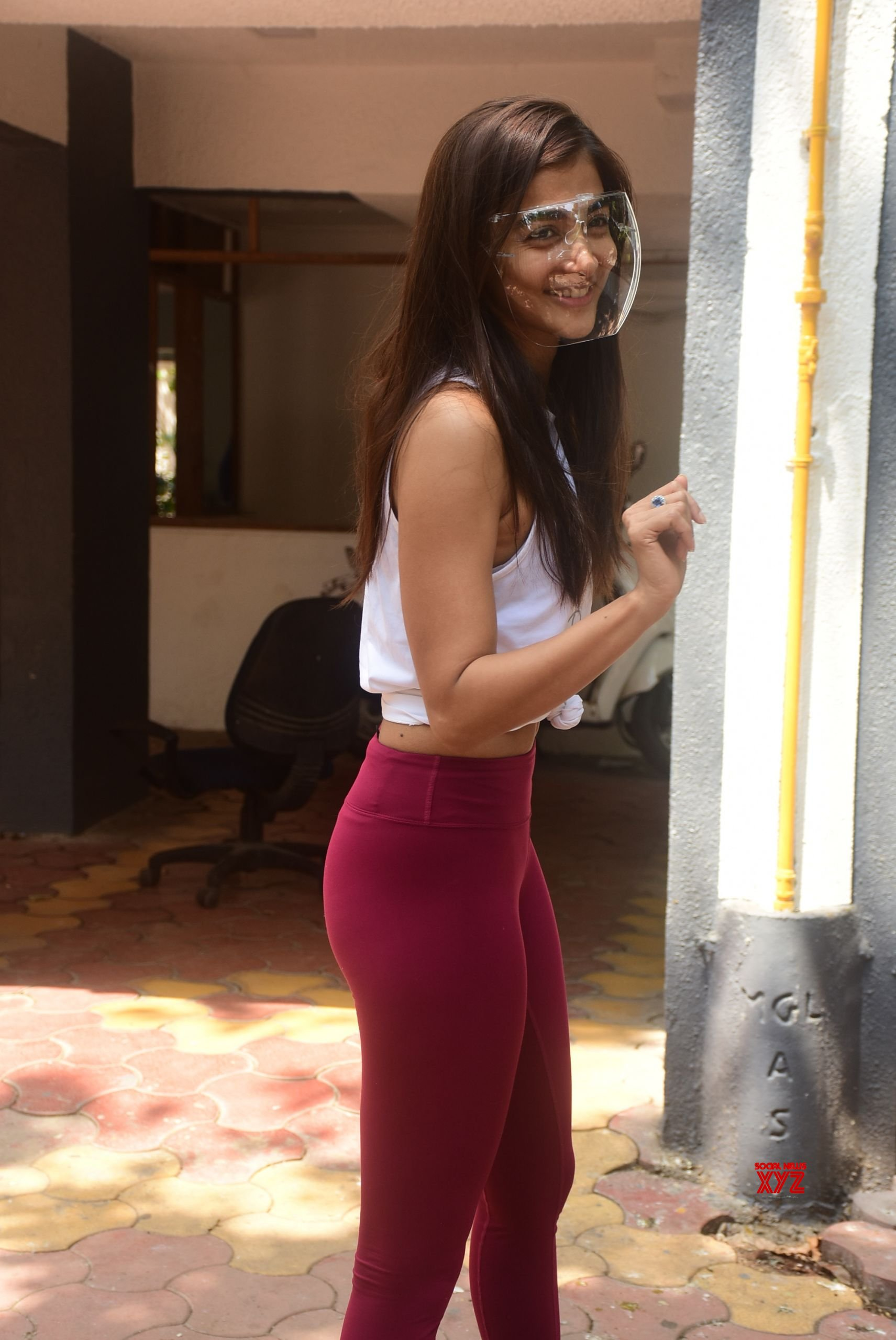 Actress Pooja Hegde Spotted In Bandra - Gallery