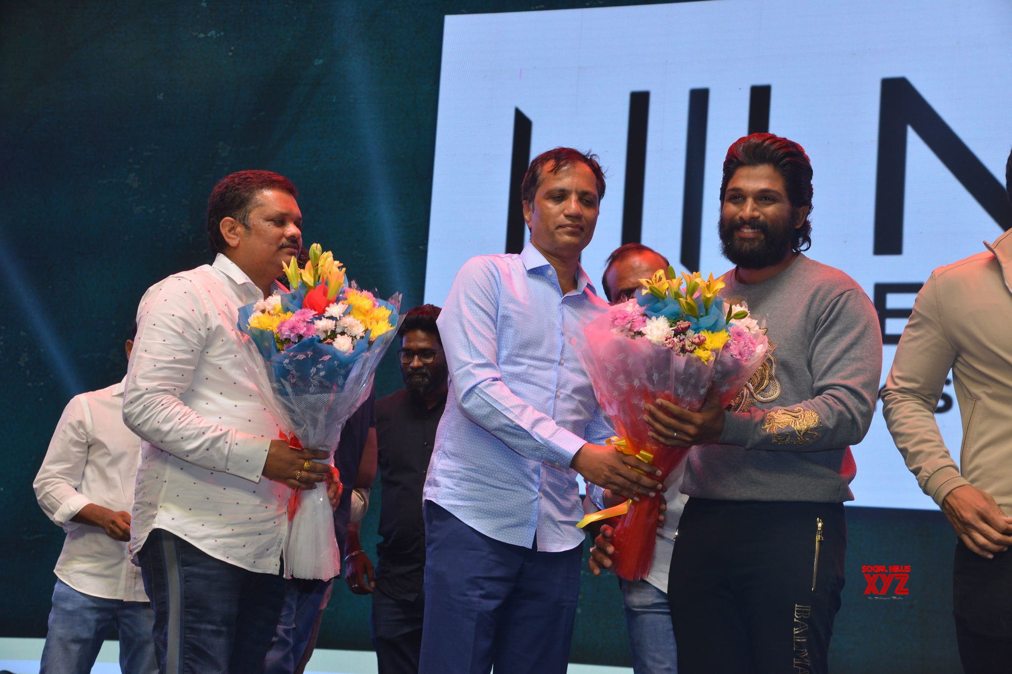 Allu Arjun's Pushpa Movie Introducing Pushpa Raj The First Meet Event Gallery Set 4