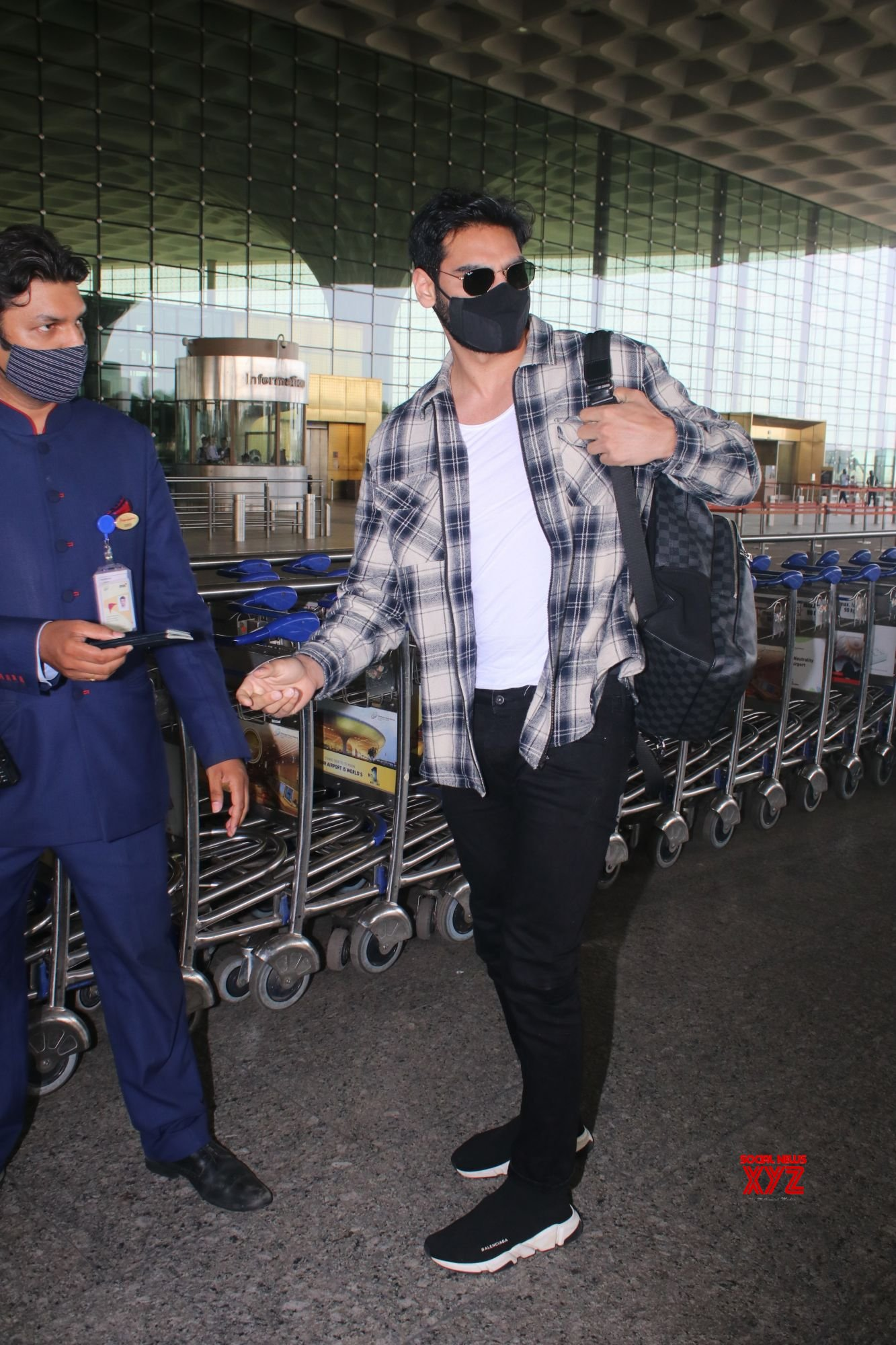 Ahaan Shetty Spotted At Airport Departure - Gallery