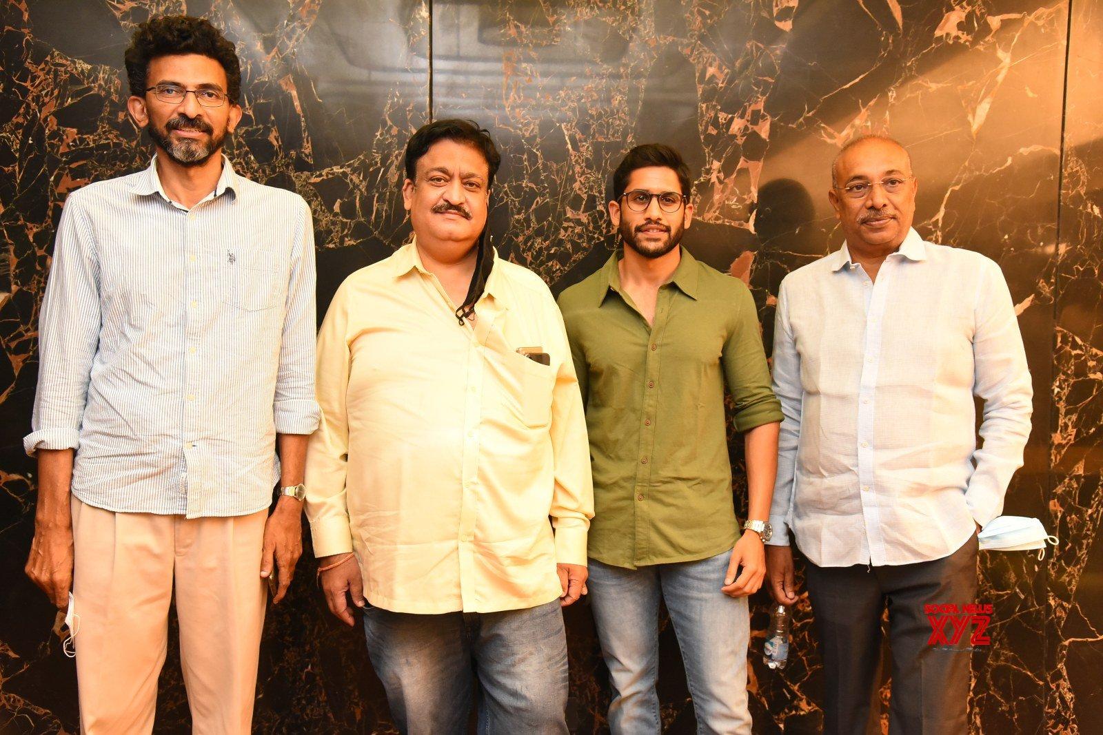 Naga Chaitanya And Sai Pallavi's Love Story Movie Postponement Press Meet - Gallery