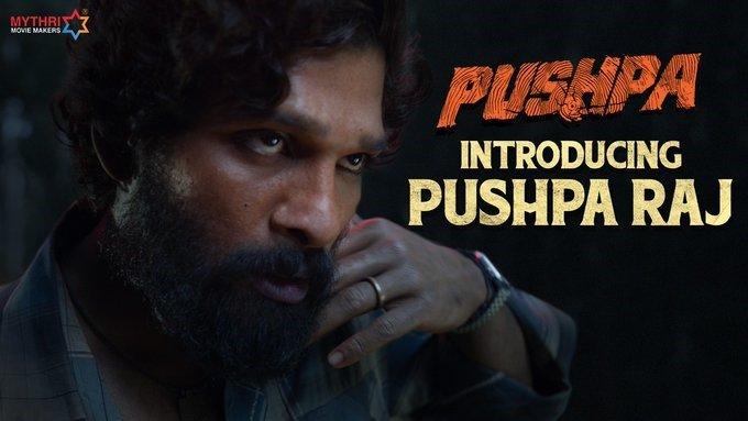 Meet Ferocious Pushpa Raj Aka Allu Arjun