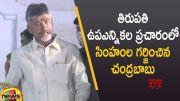 Chandrababu Naidu Powerful Speech In Tirupati By-Election Campaign (Video)