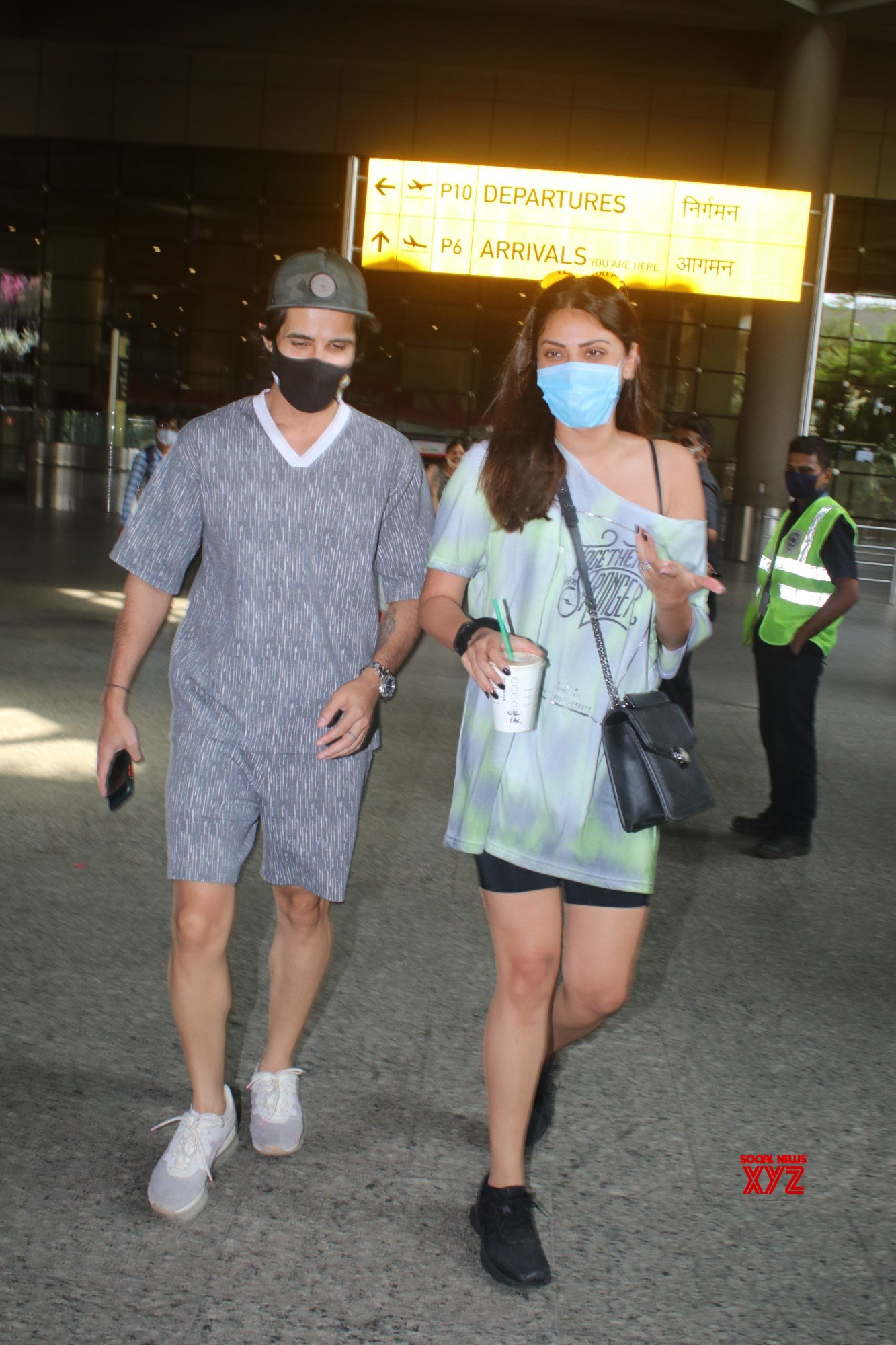 Aditya Seal And Anushka Ranjan Spotted At Airport Arrival - Gallery
